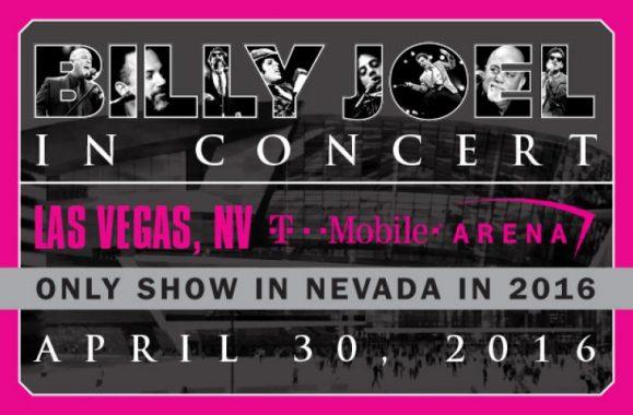 Billy Joel Announces Las Vegas Concert April 30 At T-Mobile Arena