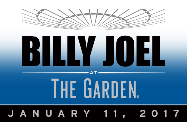 Billy Joel at Madison Square Garden January 11, 2017