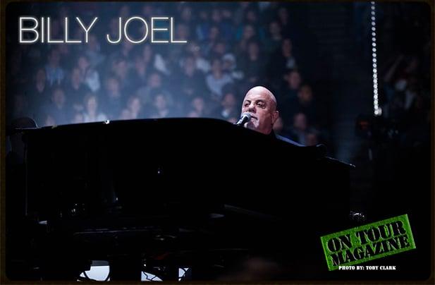 Billy Joel at U.S. Bank Arena Cincinnati, OH April 5, 2016. Photo by Toby Clark.