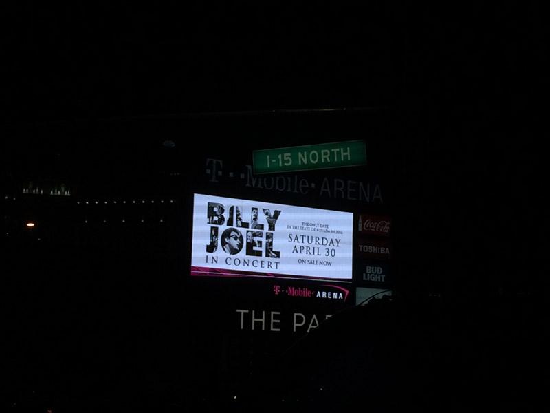 Billy Joel At T-Mobile Arena Las Vegas, NV – April 30, 2016 (Photo 59)