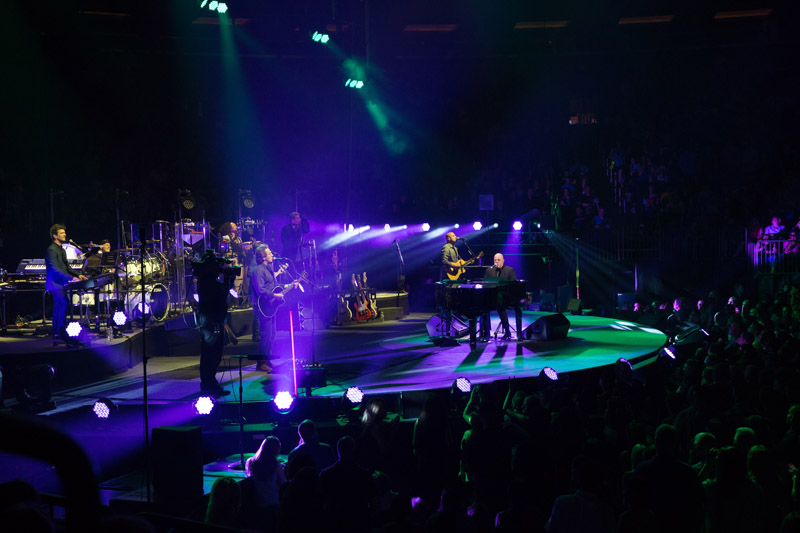 Billy Joel performs live on stage at Madison Square Garden in New York, NY, on May 27, 2016