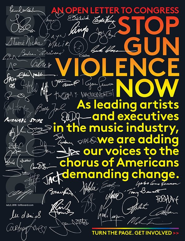 An Open Letter To Congress: Stop Gun Violence Now