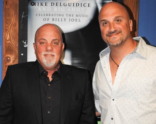 Billy Joel and Mike DelGuidice at The Paramount June 24, 2016