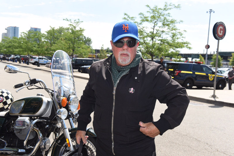 June 27, 2016- Kings Park, NY- Billy Joel at Governor Cuomo's Breast Cancer Motorcycle Ride. (Office of the Governor/Don Pollard)