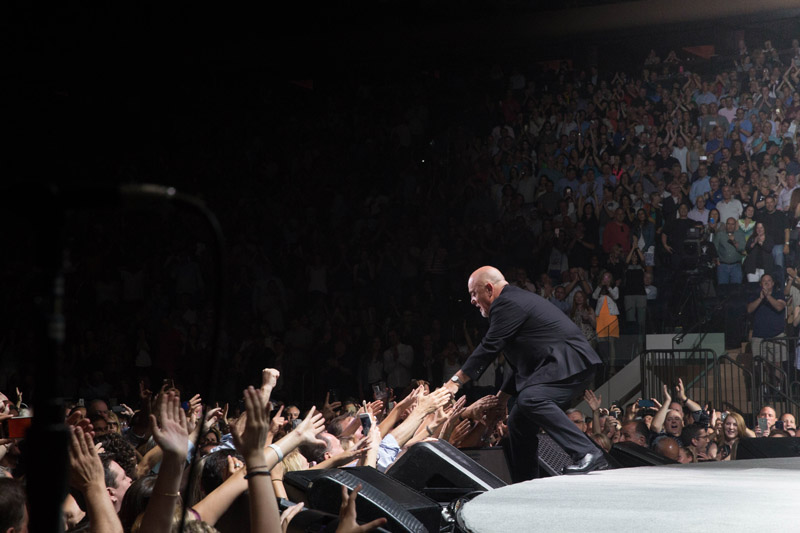 Billy Joel greets fans Madison Square Garden New York, NY June 17, 2016