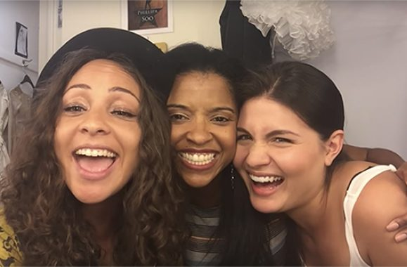 Broadway's 'Hamilton' Schuyler Sisters Sing Billy Joel's 'The Longest Time'