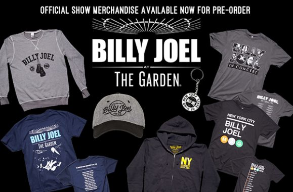 Skip The Line! Pre-Order Billy Joel Concert Merch