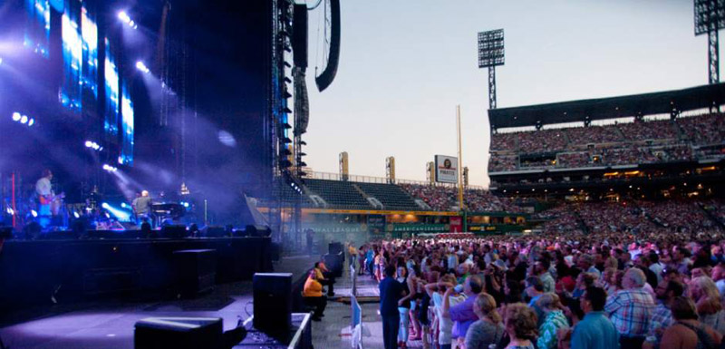 Billy Joel performs at PNC Park Pittsburgh July 1, 2016