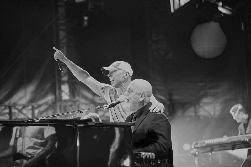 Billy Joel and Kenny Chesney at PNC Park Pittsburgh PA July 1, 2016