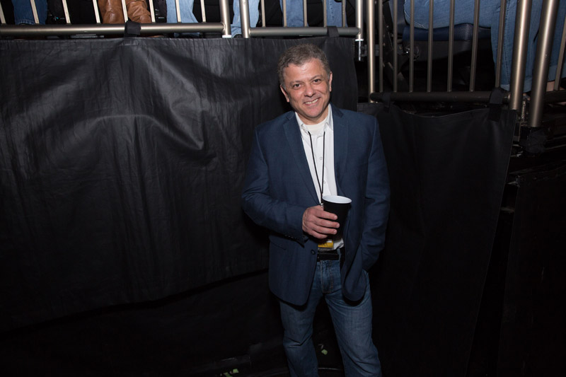 A fan backstage at Billy Joel at Madison Square Garden, April 15th, 2016