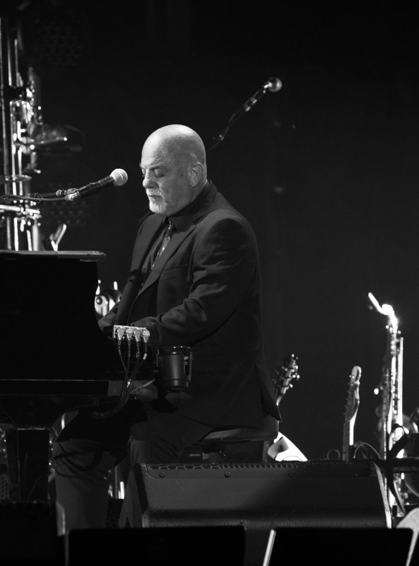 Billy Joel performs live on stage at Citizens Bank Park in Philadelphia, PA on July 9, 2016.