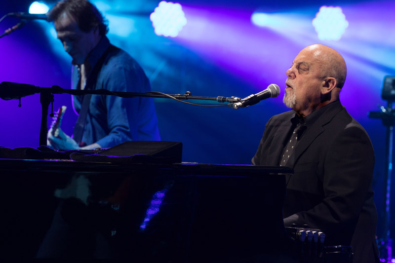 Billy Joel at Madison Square Garden, April 15th, 2016