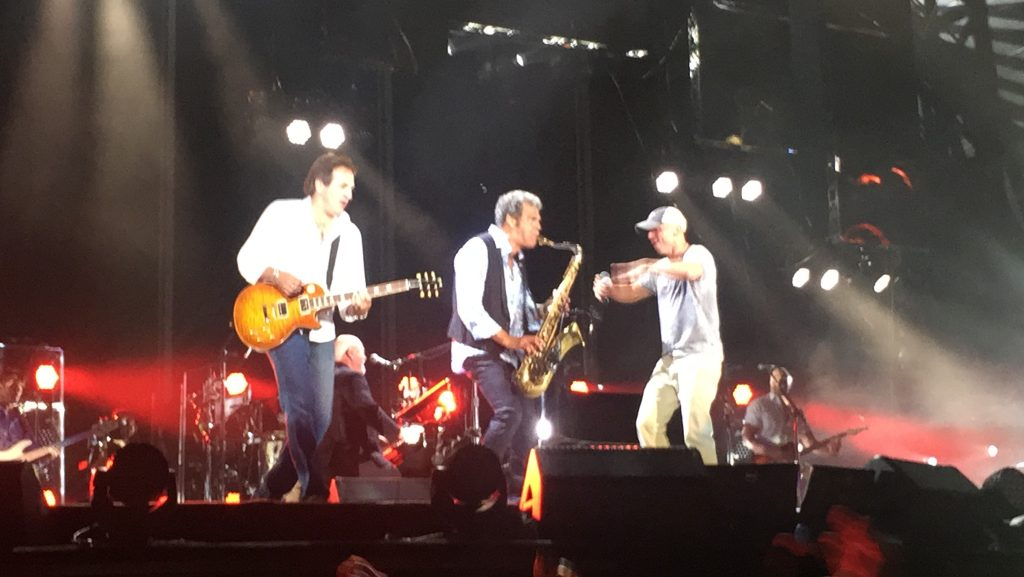 Billy Joel with surprise guest Kenny Chesney, PNC Park, July 1, 2016