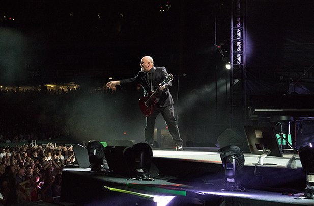 Billy Joel performs live at Fenway Park in Boston, MA, on July 16, 2015