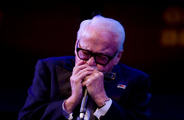Toots Thielemans in New York in 2008