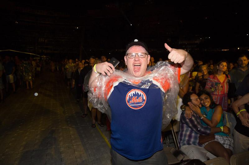 Fan in the audience
