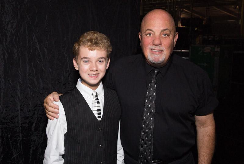 Billy Joel with Bradley Bartlett-Roche