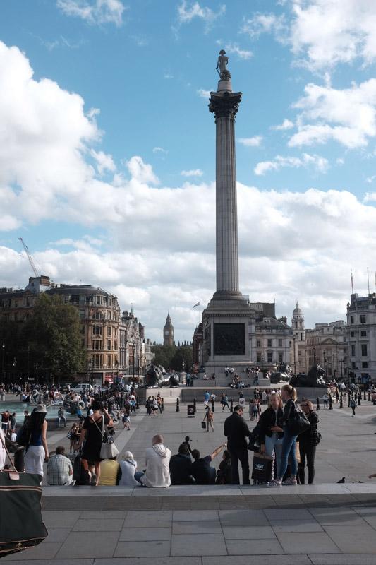 Trafalgar Square, London.  Billy Joel At Wembley Stadium, September 10, 2016