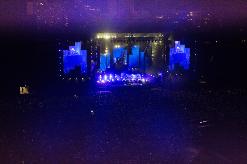Billy Joel In Concert, Wrigley Field, Chicago, Il, August 26th, 2016