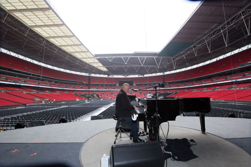 Billy Joel At Wembley Stadium, September 10, 2016