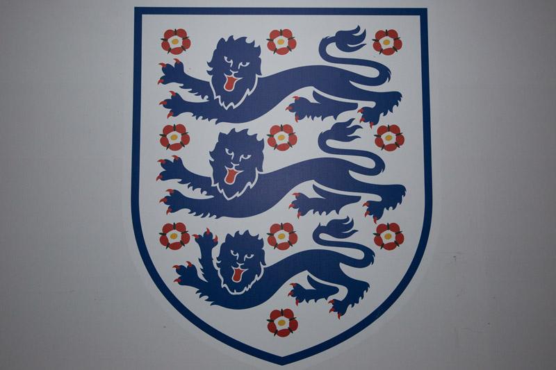 Team crest at Wembley.  Billy Joel At Wembley Stadium, September 10, 2016