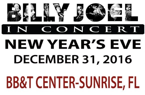 Billy Joel In Concert New Year's Eve At BB&T Center