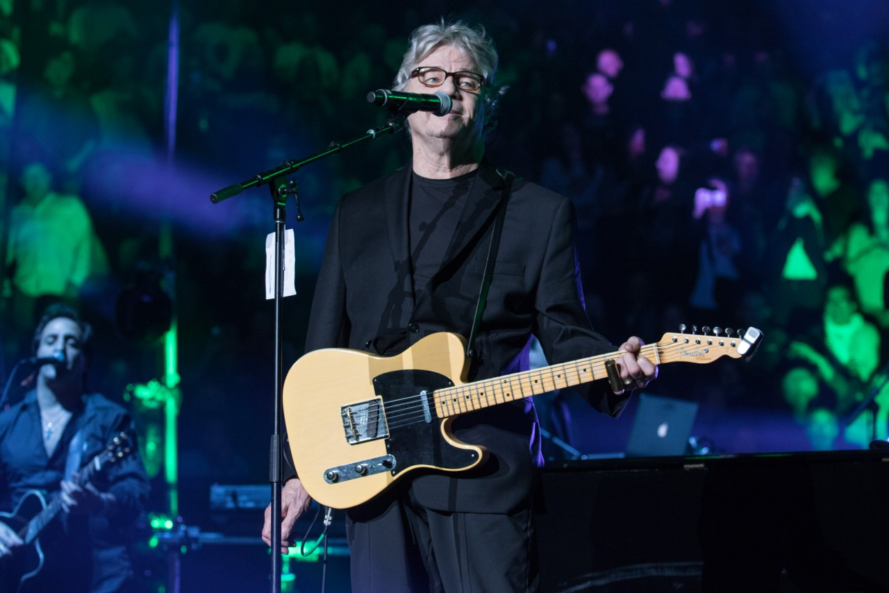 Steve Miller performs during Billy Joel's concert at Madison Square Garden in New York, NY, in October 2015
