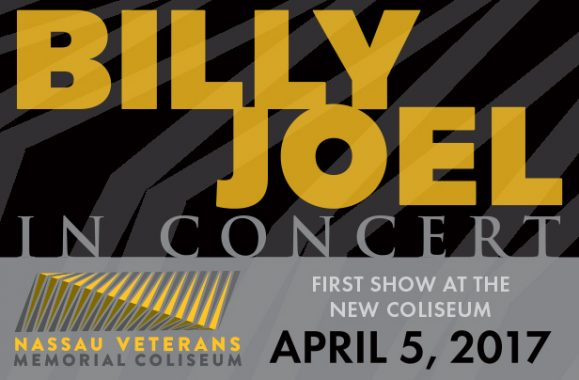 Billy Joel To Open The New Coliseum April 5, 2017