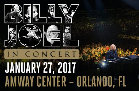 Billy Joel In Concert Amway Center Orlando January 27, 2017