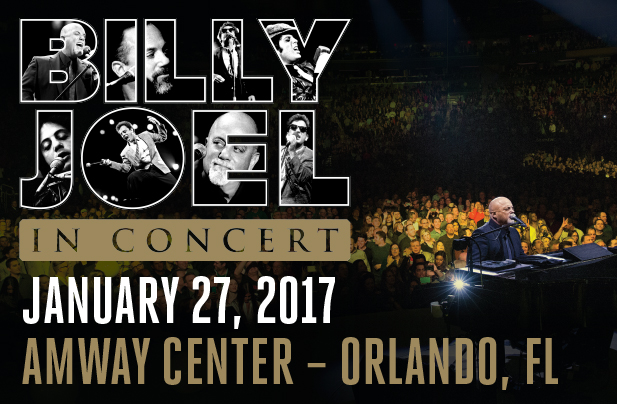 Billy Joel In Concert Amway Center Orlando January 27 ...