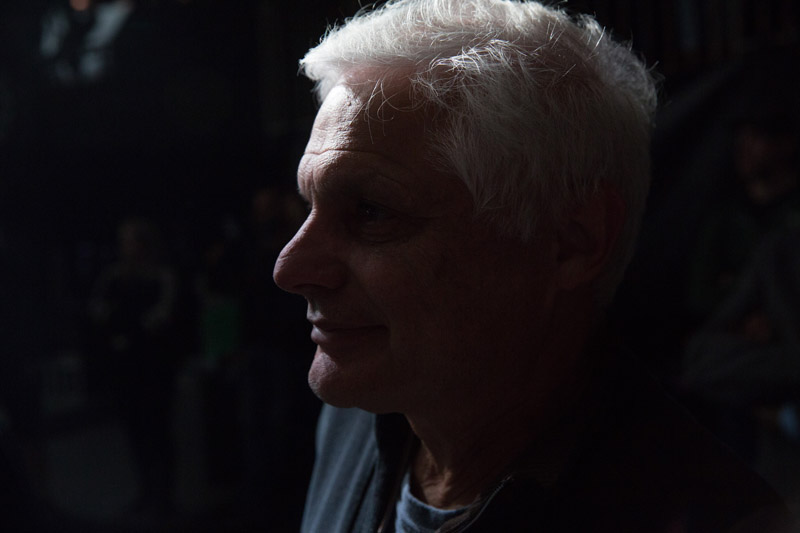 Bill Zampino backstage. Billy Joel At Madison Square Garden