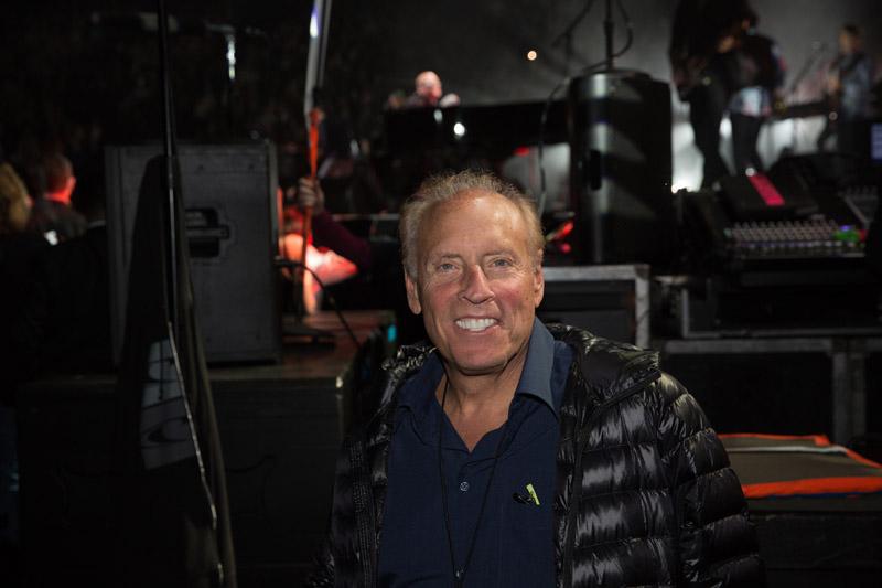 Dennis Arfa, backstage.  Billy Joel At Madison Square Garden