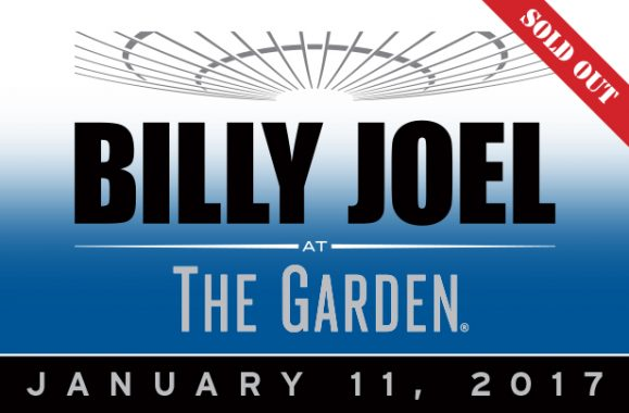 Billy Joel At Madison Square Garden 37th Show January 11, 2017