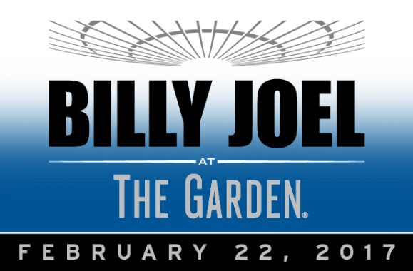 Billy Joel Announces MSG Concert February 22, 2017