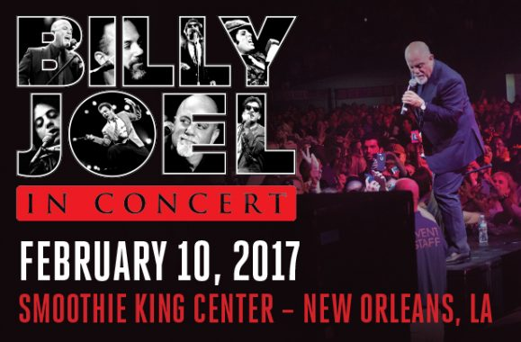 Billy Joel In Concert New Orleans February 10, 2017