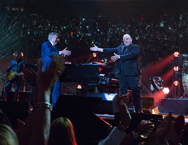 Billy Joel and Tony Bennett at Madison Square Garden in New York, NY on July 20, 2016