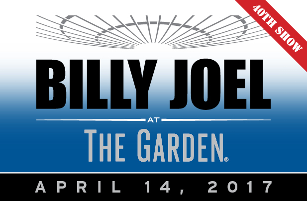 Billy Joel Madison Square Garden April 14, 2017