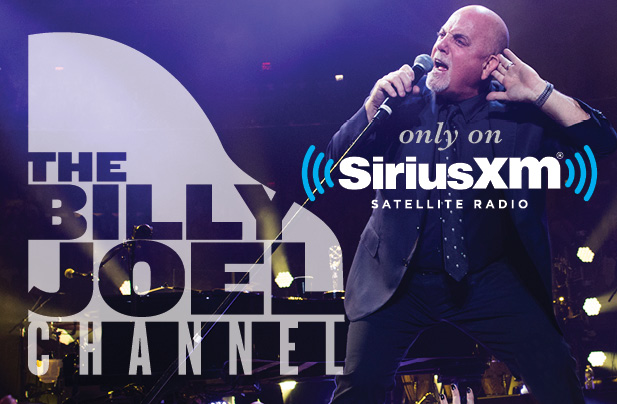 The Billy Joel Channel Returns To SiriusXM January 2 - February 1, 2017