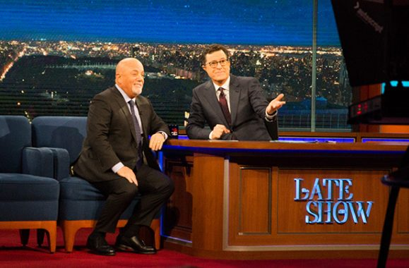 Watch Billy Joel On 'Late Show With Stephen Colbert' – Videos & Photos