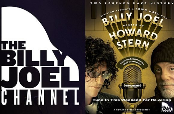 TUNE IN: Billy Joel & Howard Stern Town Hall Re-airs On SiriusXM This Weekend
