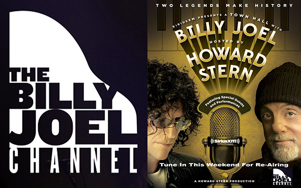 Billy Joel SiriusXM Town Hall 2014 hosted by Howard Stern re-airs on The Billy Joel Channel