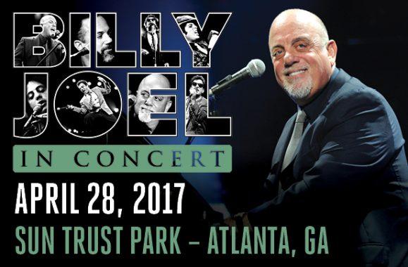 Billy Joel Sets Concert At SunTrust Park Atlanta April 28, 2017