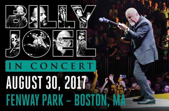 Billy Joel Returns To Fenway Park August 30, 2017