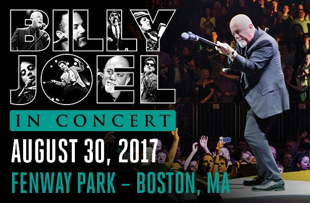 Billy Joel Fenway Park Boston, MA August 30, 2017