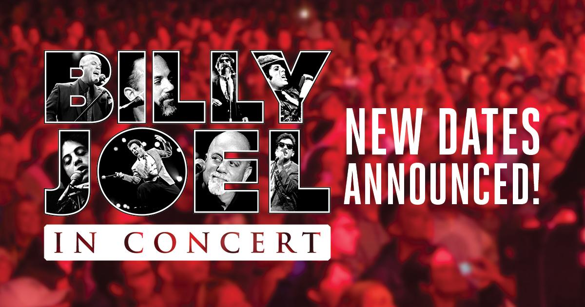 Billy joel concert dates