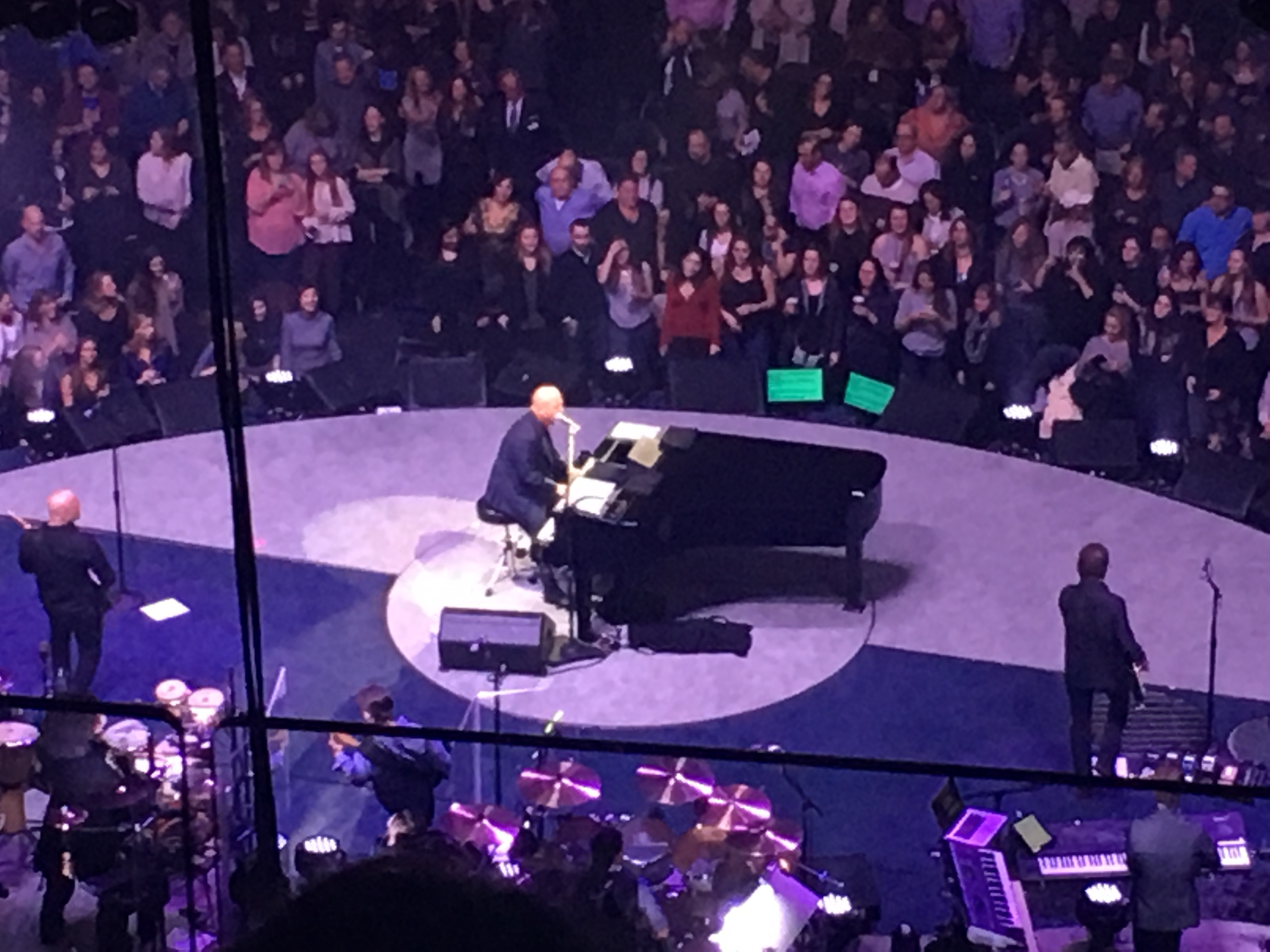 Billy Joel At Madison Square Garden January 11 2017