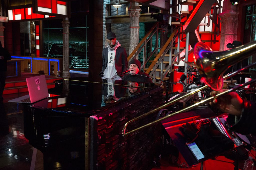 Billy Joel On 'The Late Show With Stephen Colbert' (January 9, 2017) Photo 5