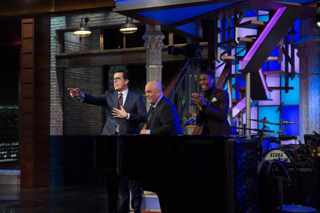 Billy Joel On 'The Late Show With Stephen Colbert' (January 9, 2017) Photo 13