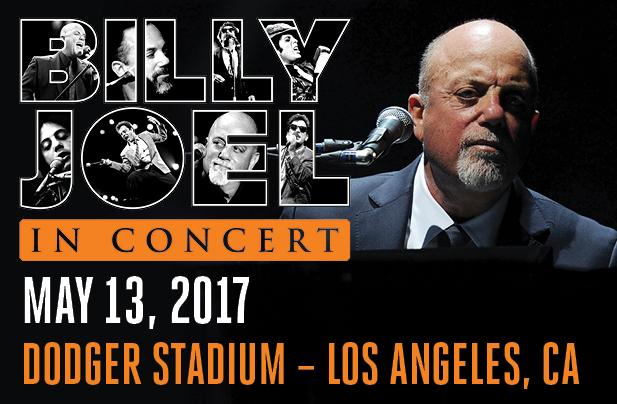 Billy Joel Dodger Stadium Los Angeles, CA May 13, 2017