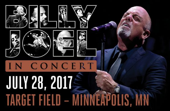 Billy Joel In Concert At Target Field Minnesota July 28, 2017